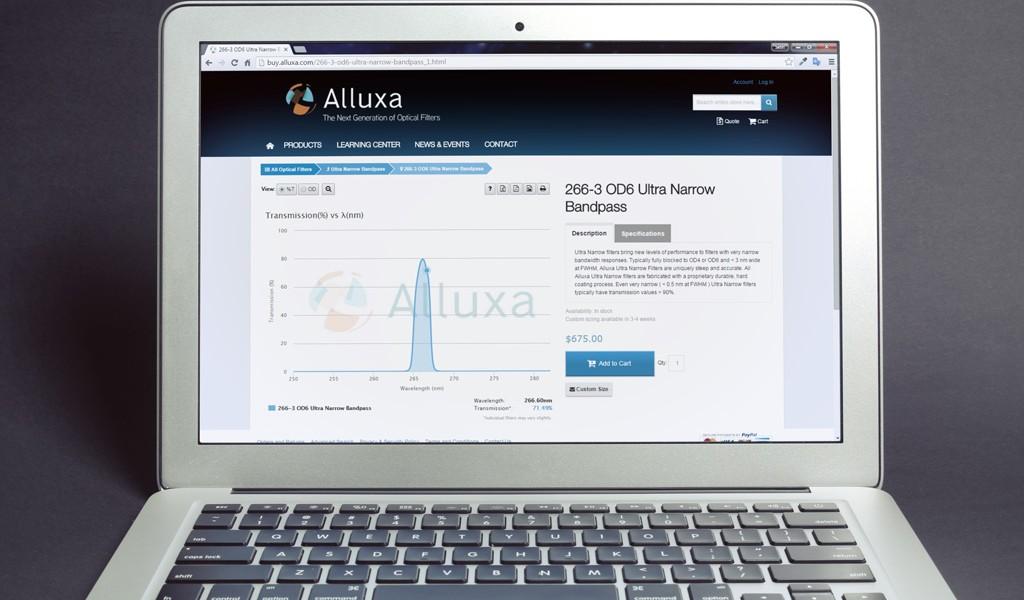 Alluxa Webshop