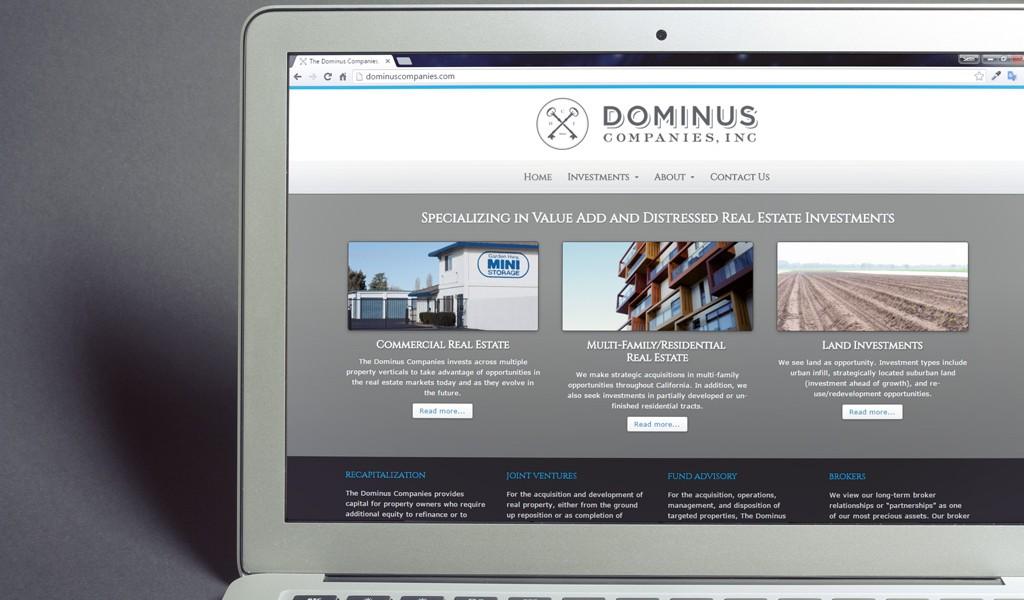 Dominus Companies, Inc. Website